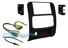 02-07 LIBERTY DOUBLE 2 DIN CAR STEREO DASH KIT W INFINITY AMP HARNESS & ANTENNA