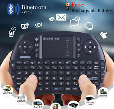 Bluetooth Wireless Keyboard keypad Touch-pad Mouse for PC Android TV BOX mxq pro