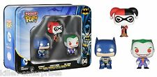 Funko Batman DC Comics Pocket Pop! Mini Vinyl Figure Tin (3-Pack) Harley Joker