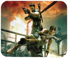 "RESIDENT EVIL 5 MOUSE PAD 1/4"" NOVELTY MOUSEPAD"