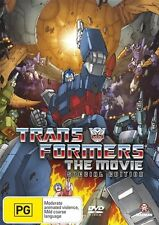 Transformers: The Animated Movie - Special Edition DVD NEW