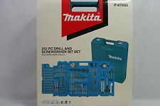MAKITA 252 PC DRILL AND SCREWDRIVER BIT SET INCLUDES HAND TOOLS