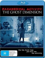 The Paranormal Activity - Ghost Dimension (Blu-ray, 2016)EX RENTAL DISC ONLY CAN