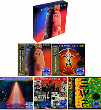 "EARTH, WIND & FIRE ""Raise! "" Japan Mini LP 5 Blu-spec CD BOX"
