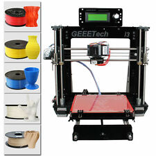 Scalable Geeetech 3D Printer Full Kit Reprap Prusa i3 MK2A Heatbed LCD MK8 New