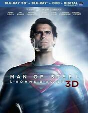 Man Of Steel 3D (Ws)  Blu-Ray NEW