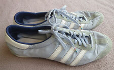 Adidas Light Blue & White Athletic Shoes - Size US 9 UK 7.5