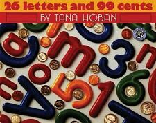 26 Letters and 99 Cents (Mulberry Books)-ExLibrary