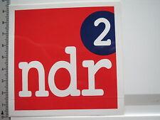 Aufkleber Sticker NDR2 - Rundfunk - Radio - UKW (6247)