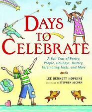 Days to Celebrate: A Full Year of Poetry * Hardcover, VGC * We Combine Shipping