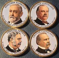 COLORIZED 2012 PRESIDENTIAL DOLLAR SET - FRONT ONLY