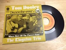RARE FRENCH SP THE KINGSTON TRIO TOM DOOLEY