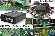 FGTech V54 Galletto 4 Master ECU Programmer BDM TriCore OBD2 Chip Tuning ECU Map