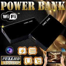 WIFI 1080P SPY Mobile Power Bank Night Vision IP Camera Video Recorder U