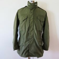 VINTAGE ORIGINAL US ARMY M-65 M65 FIELD JACKET CONMAR OG-107 MEDIUM LONG 1966