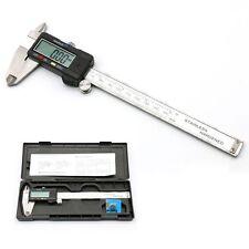 """Digital LCD Display Vernier Caliper 6"""" 150mm Electronic Tool Micrometer Gauge UK"""