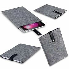 Yoshie & Nico Protective Durable Felt Pouch Cover Grey Samsung Galaxy Tab 10.1