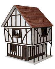Stockwell Tudor Style Dolls House 1:12 Scale - - Unpainted Dolls House Kit