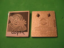 Disney Pin Characters And Cameras Mystery Set, Dopey LE 250 Chaser