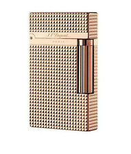 2017 New S.T Memorial in box Rose Gold Dupont lighter Bright Sound