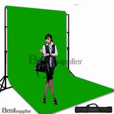 10x20ft Photo Larger Green Muslin Backdrop Screen Background Support Stand Kit