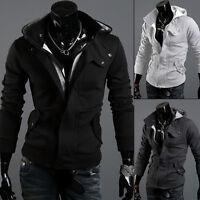 Mens Slim Fit Stylish Sweatshirt Hoodies Hooded Casual Coat Outwear Sweatshirt