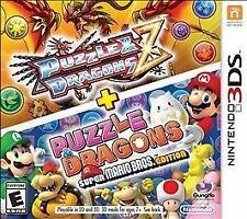 Puzzle and & Dragons Z + Super Mario Bros Edition *New* (Nintendo 3DS, 2015)