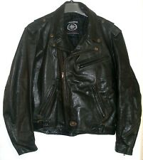 YAMAHA ROAD STAR  Black Leather Biker Jacket Sz XL -  EUC!! RETRO 1997 W/ liner