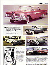 1959 Ford Edsel Article - Must See !!