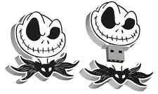 Nightmare Before Christmas Jack Skellington Head 8G USB Flash Drive