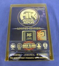 RARE Action Replay LE for Playstation 2 PS2 Includes 16 MB  Memory Card / AR CD