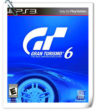 PS3 Gran Turismo 6  GT6 SONY PlayStation Racing Games SCE