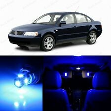 13 x Ultra Blue LED Interior Light Package For 1998 - 2005 Volkswagen VW Passat