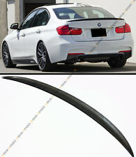Carbon Fiber Performance Style Trunk Spoiler Fit For 2012-16 BMW F30 328i 335i M