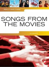 Really easy piano: songs from the movies-y compris let it go, heureux & skyfall
