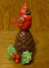 Jim Shore Heartwood Creek Minis #4027769 CHRISTMAS CARDINAL, From Retail Store