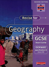 BRAND NEW Revise for Geography GCSE: OCR/WJEC Specification B (Avery Hill)