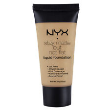 NYX Stay Matte But Not Flat Liquid Foundation 1.18 oz color SMF12 Tawny