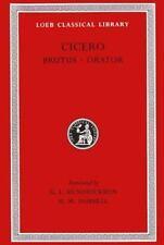 Cicero: Brutus, Orator;  Volume V (Loeb Classical Library No. 342)