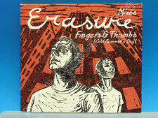 "5"" Single CD Erasure-fingers & Thumbs-Mixes (j-218) 4 tracks EU 1995"