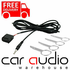 FORD 6000CD Car Radio MP3 iPod iPhone Aux In Input Cable Adaptor & Keys CT29FD04