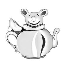 Lovelinks Bead Sterling Silver, Silver Mouse Teapot Fashion Charm Jewelry TT089