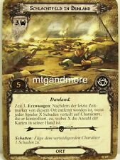 Lord of the Rings LCG  - 1x Schlachtfeld in Dunland  #157 - Die Geweihkrone