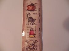 Tim Holtz Mini Blueprints Cling Stamps -  Happy Halloween -#635