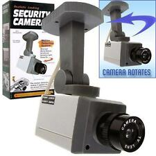 2 FAKE REALISTIC MOTION DECTECTION SECURITY DUMMY VIDEO CAMERA activation light