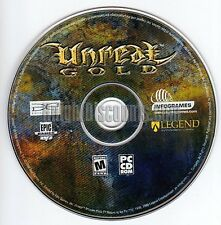 UNREAL GOLD EDITION Classic Original Shooter FPS PC Game for Windows NEW CD
