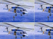 AFV Club 1/35 Blue Hawk S70C Air Rescue Helicopter  #35S13  *Sealed*