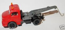 WIKING HO 1/87 MB MERCEDES 1413 TOW TRUCK CAMION FOURRIERE DEPANNEUSE WRECKER r