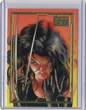 2014 Dangerous Divas series 2 Marvel 75th Anniversary Gold #18 X-23 /75