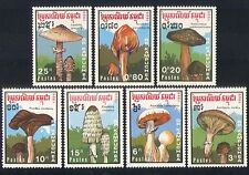 Kampuchea 1989 Fungi/Mushrooms 7v set ref:b8244